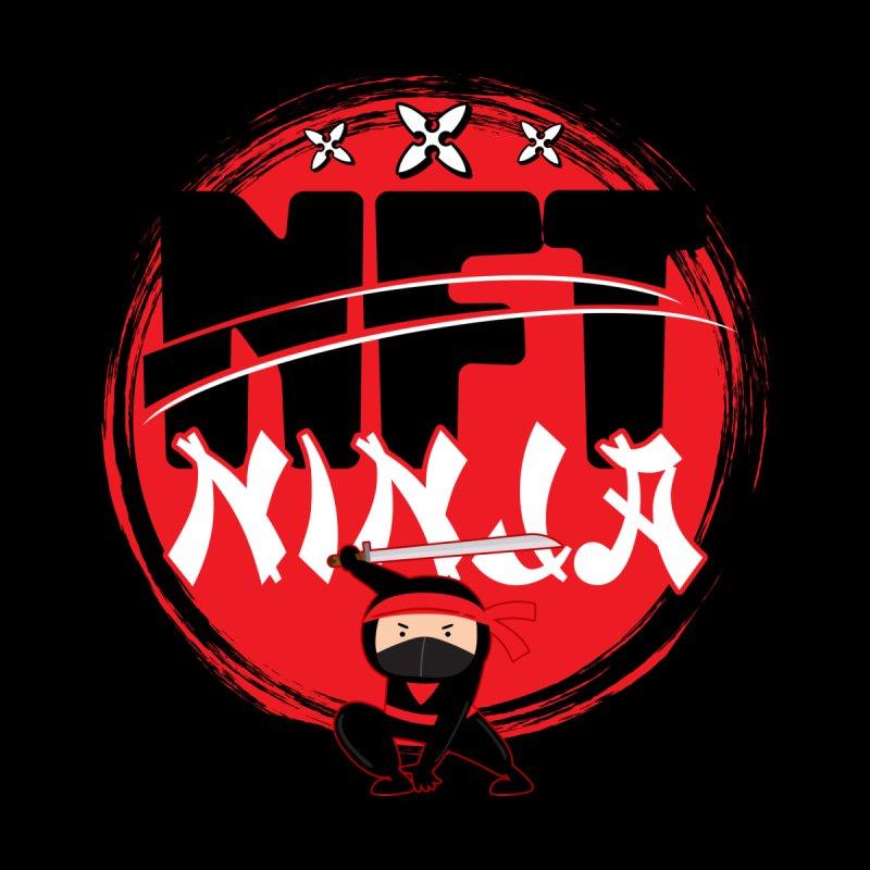 NFT Ninja Non Fungible token Men's T-Shirt by Opippi