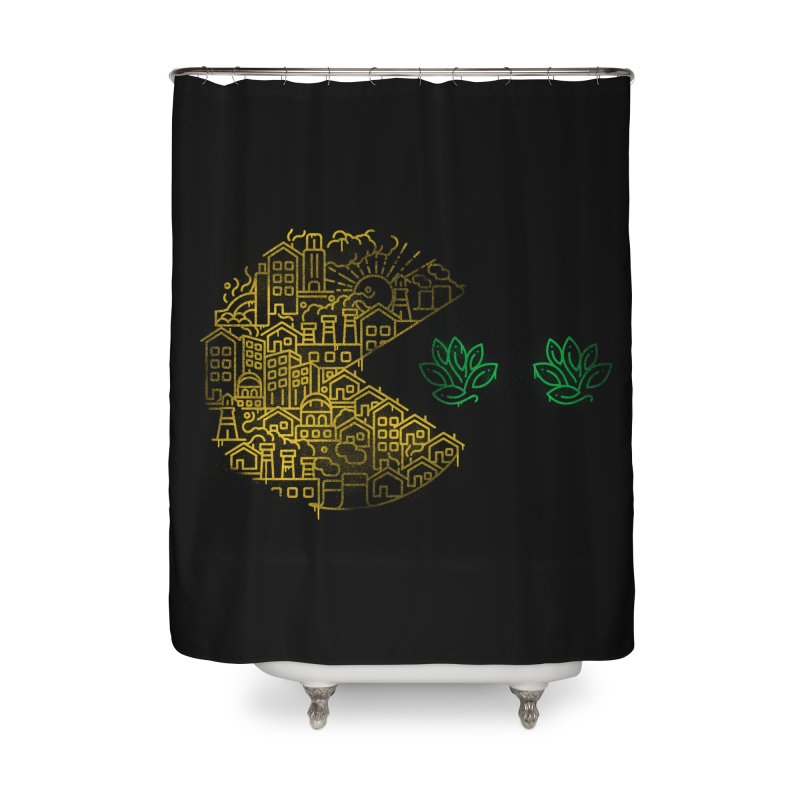 Is the game over? Home Shower Curtain by Opippi