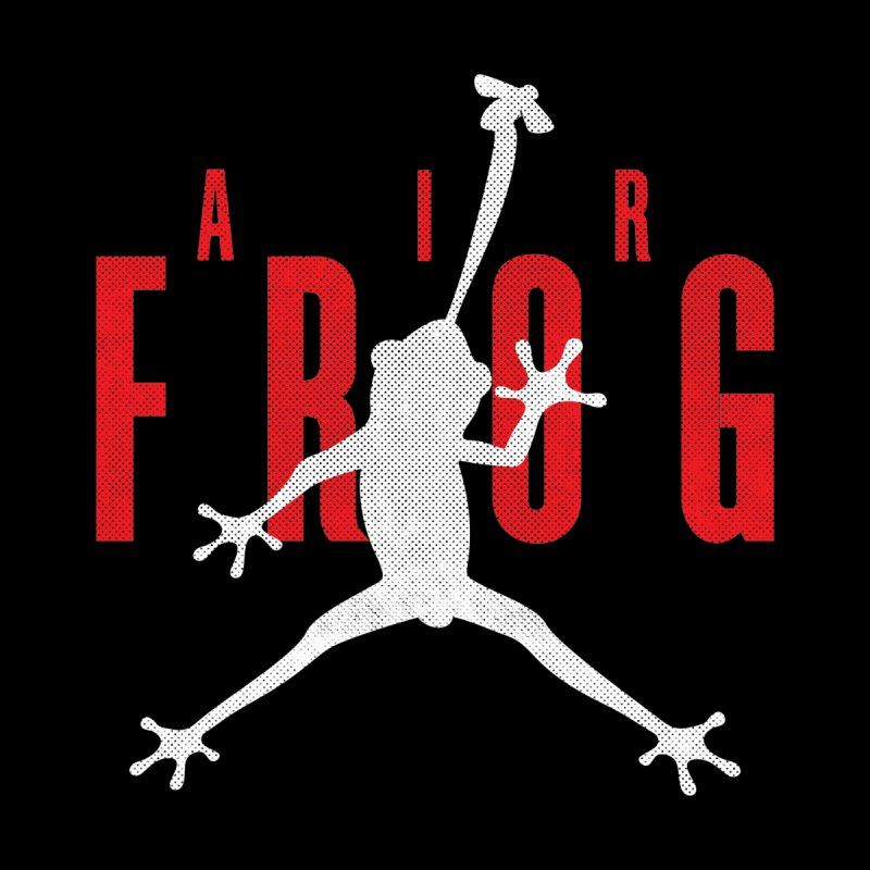 Funny Air Frog I Love Frogs Men's T-Shirt by Opippi
