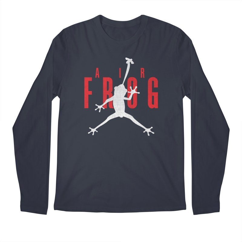 Funny Air Frog I Love Frogs Men's Longsleeve T-Shirt by Opippi