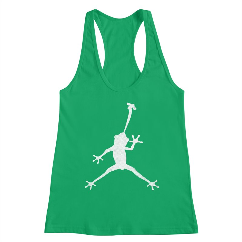 Funny Air Frog parody Women's Tank by Opippi