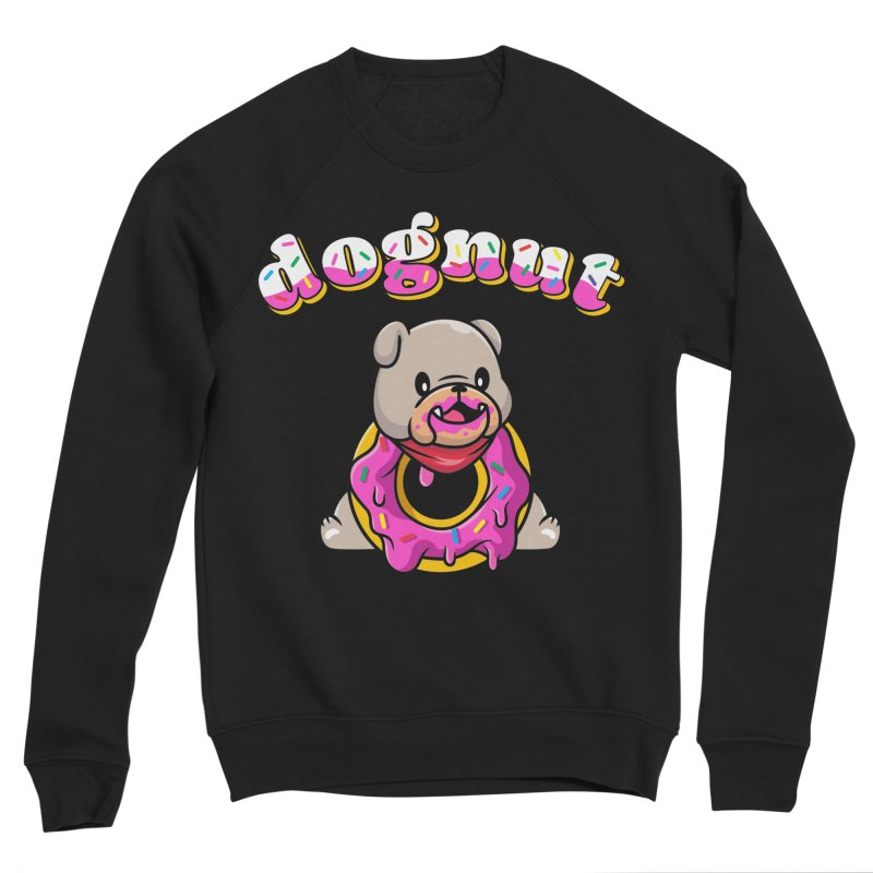 Funny Pun Dognut Bulldog Women's Sweatshirt by Opippi