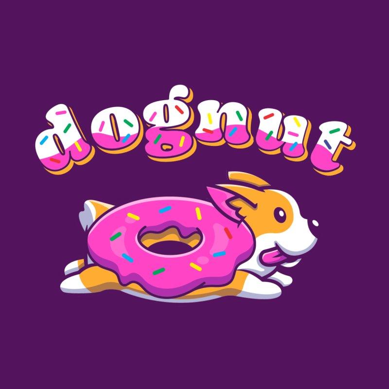 Funny Pun Dognut Men's Longsleeve T-Shirt by Opippi
