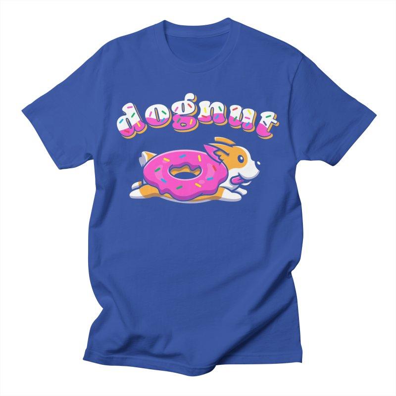 Funny Pun Dognut Men's T-Shirt by Opippi