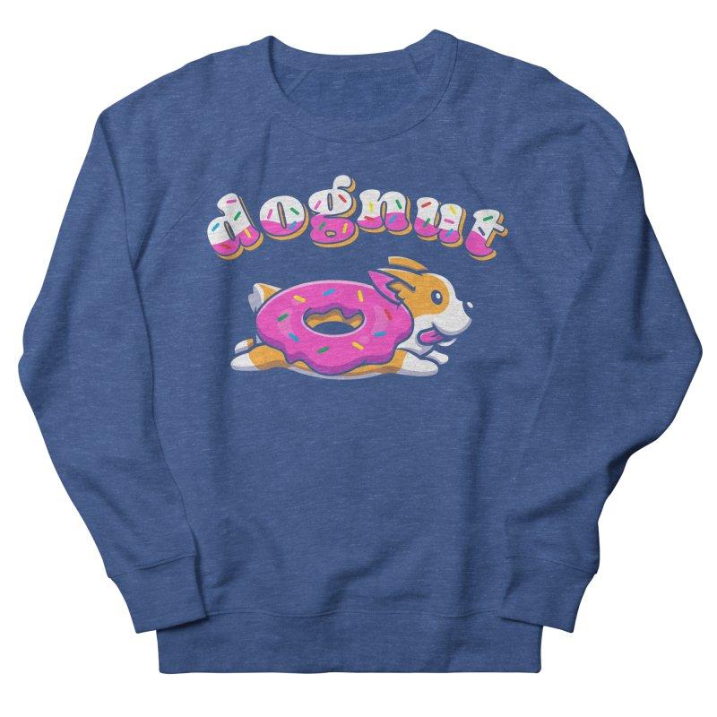 Funny Pun Dognut Men's Sweatshirt by Opippi