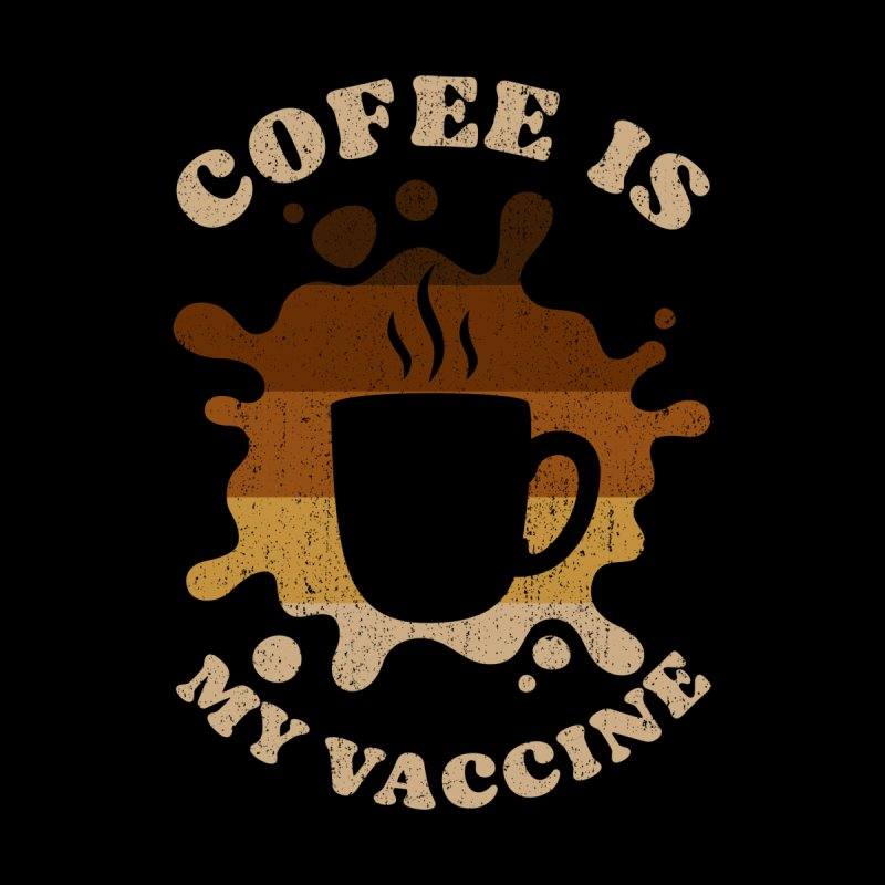 Coffee is my Vaccine Retro Women's Pullover Hoody by Opippi