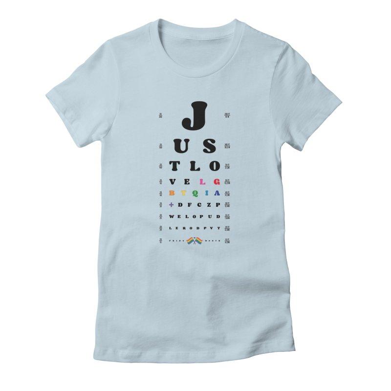 Just love LGBTQIA+ Women's T-Shirt by Opippi