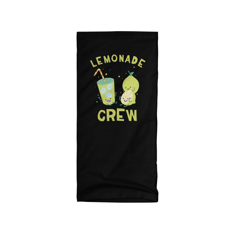 Cute kawaii Lemonade Crew fun summertime Lemon Lover Accessories Neck Gaiter by Opippi