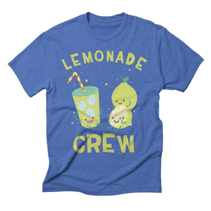 Cute kawaii Lemonade Crew fun summertime Lemon Lover Men's T-Shirt by Opippi