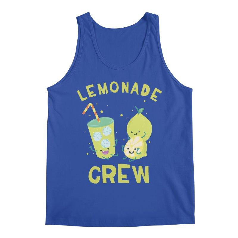 Cute kawaii Lemonade Crew fun summertime Lemon Lover Men's Tank by Opippi