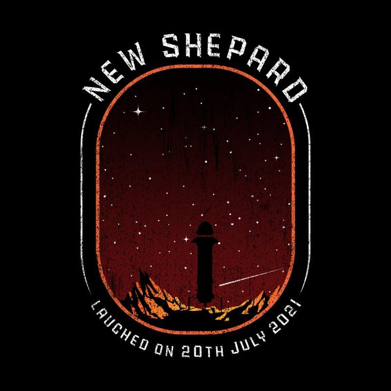 Blue Origin New Shepard Rocket 21 First Suborbital spaceflight Women's T-Shirt by Opippi