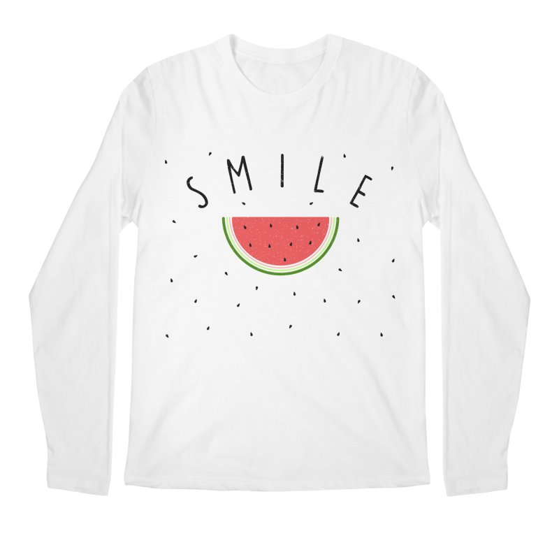 Water Melon Men's Longsleeve T-Shirt by Opippi