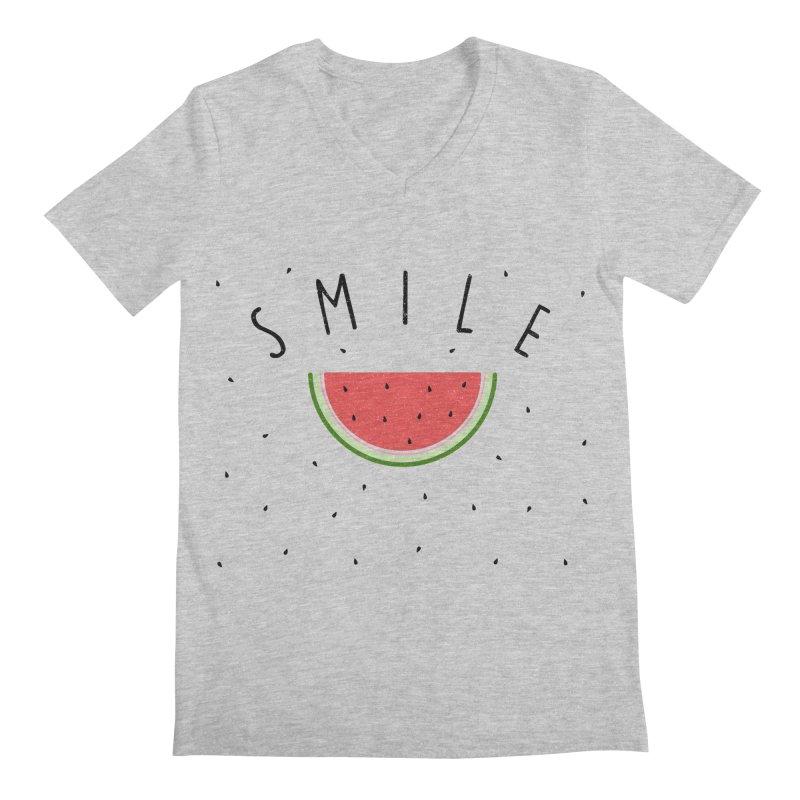 Water Melon Men's V-Neck by Opippi