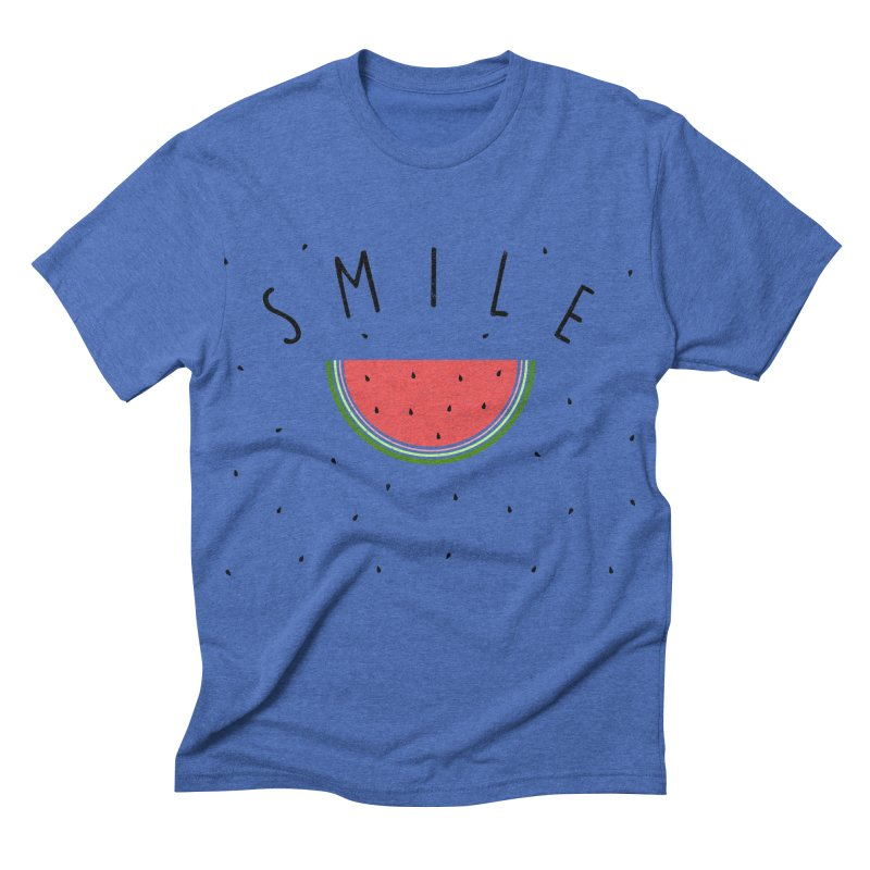 Water Melon Men's Triblend T-shirt by Opippi