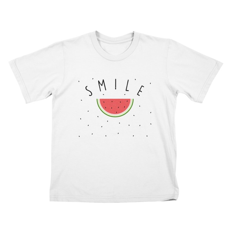 Water Melon Kids T-shirt by Opippi