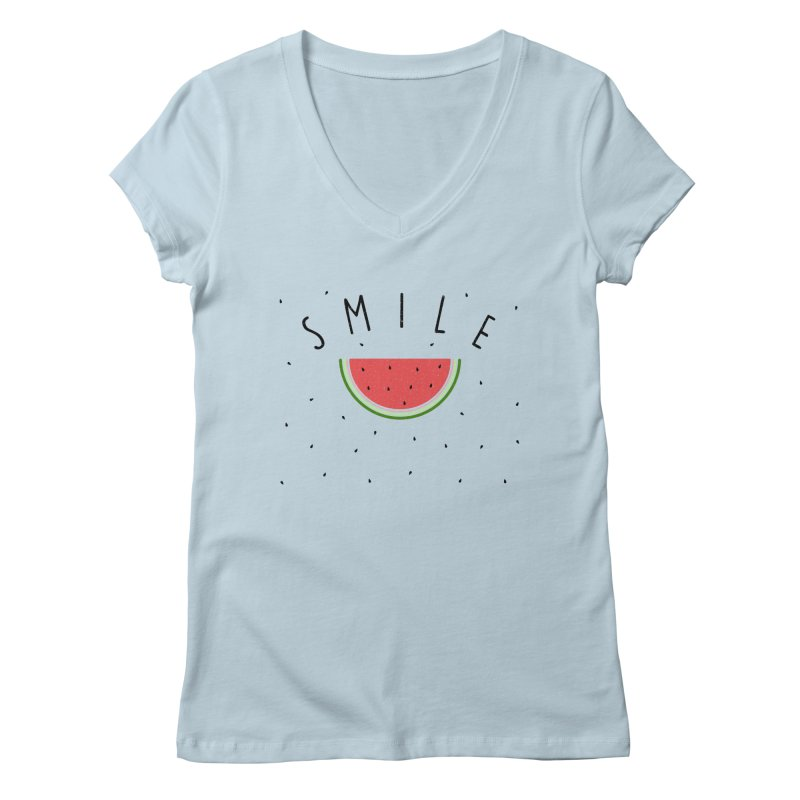 Water Melon Women's V-Neck by Opippi
