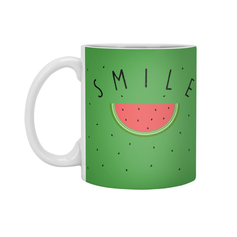 Water Melon Accessories Mug by Opippi