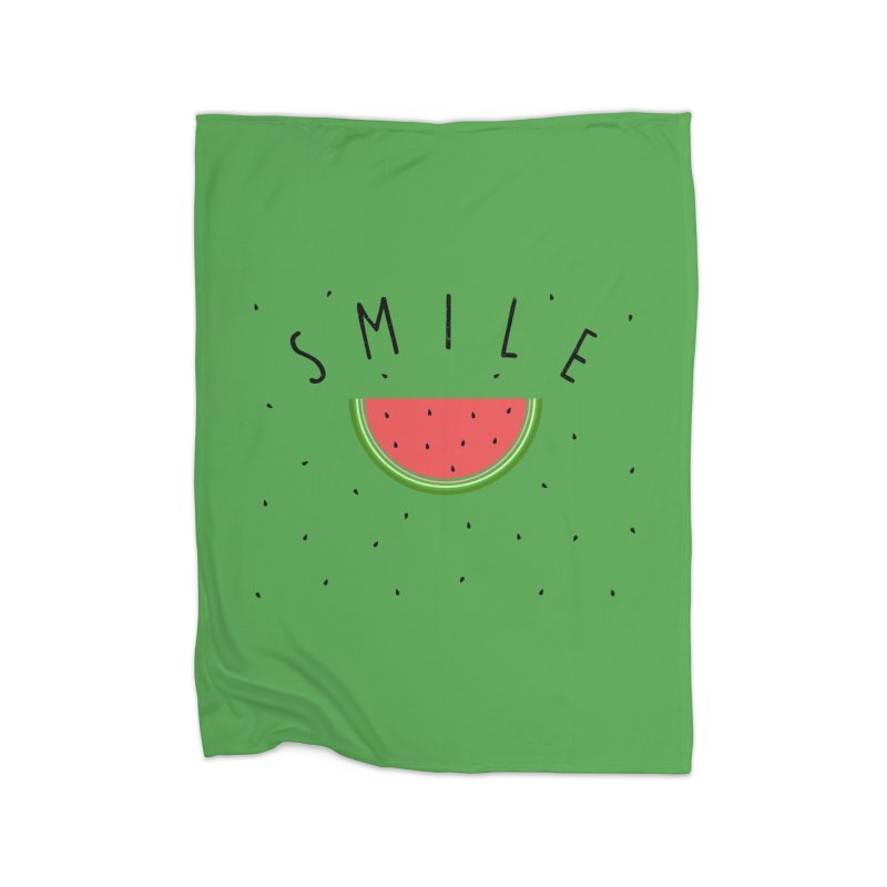 Water Melon Home Blanket by Opippi