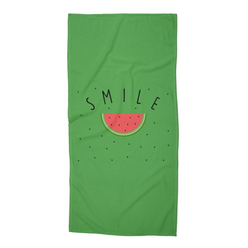 Water Melon Accessories Beach Towel by Opippi