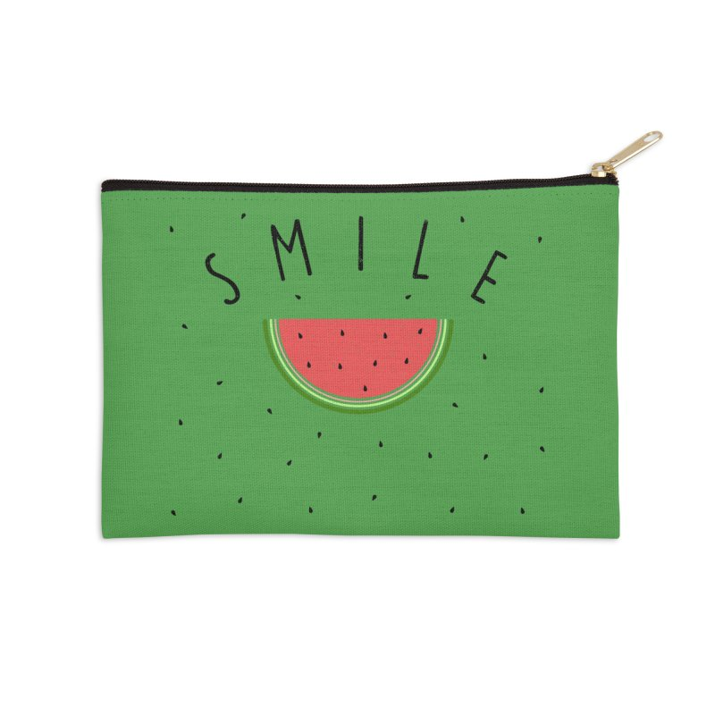 Water Melon Accessories Zip Pouch by Opippi