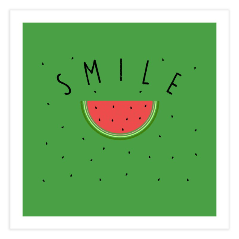 Water Melon Home Fine Art Print by Opippi