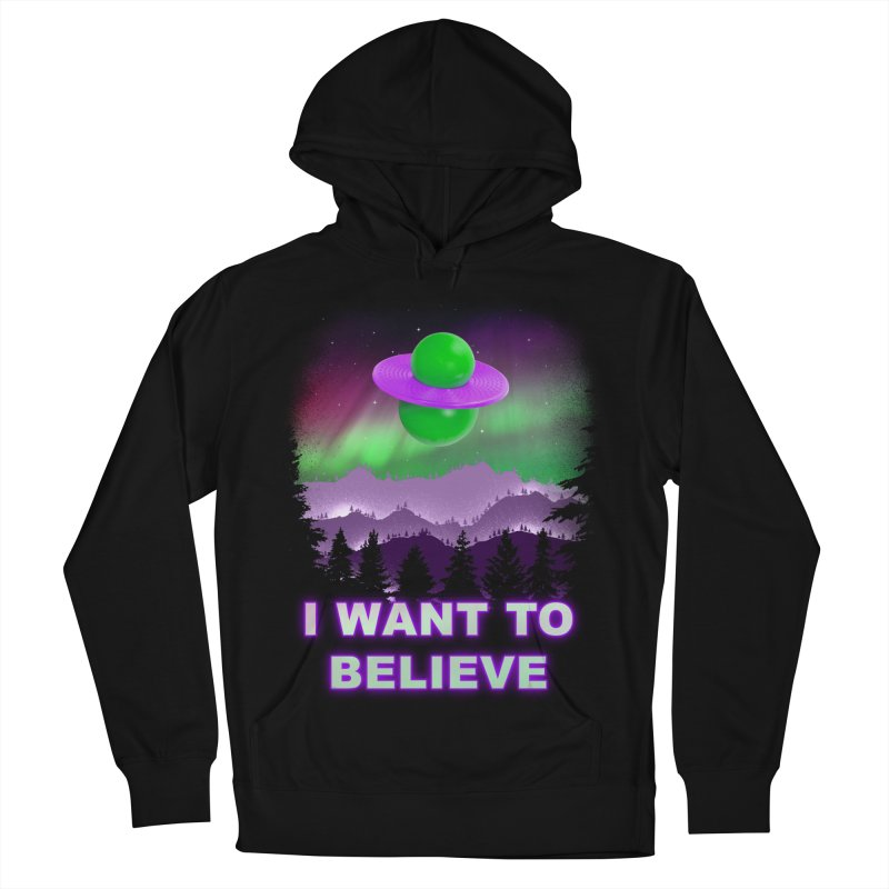 I Want to Believe Men's Pullover Hoody by Opippi