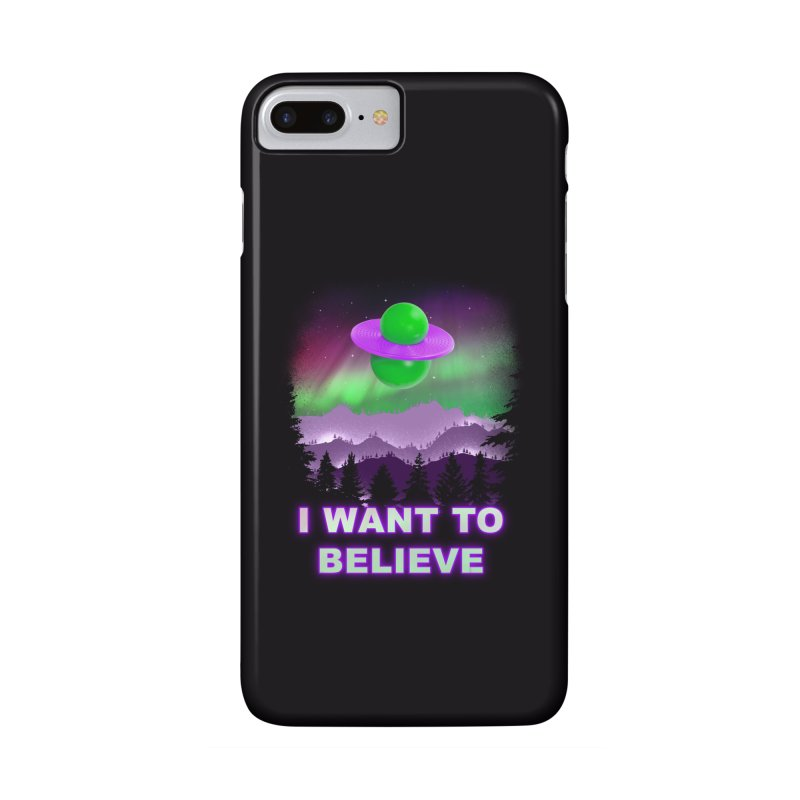 I Want to Believe Accessories Phone Case by Opippi