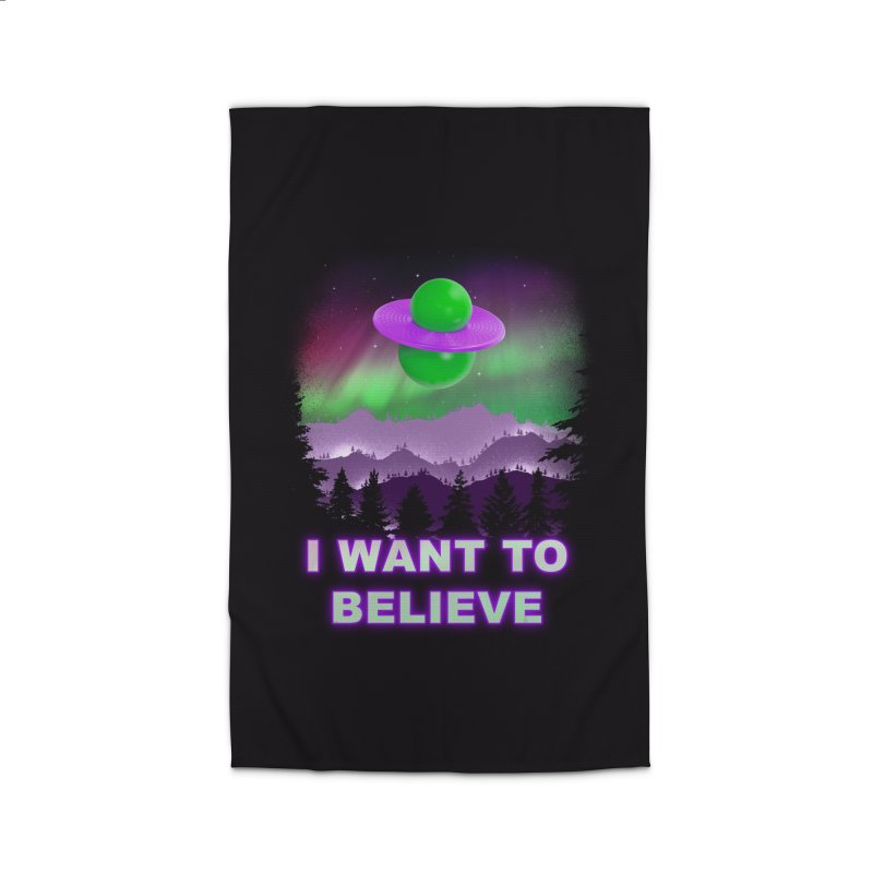 I Want to Believe Home Rug by Opippi