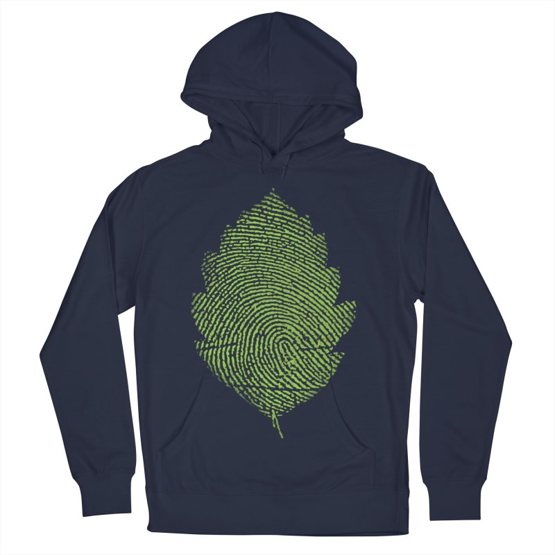 Leafprint Men's Pullover Hoody by Opippi