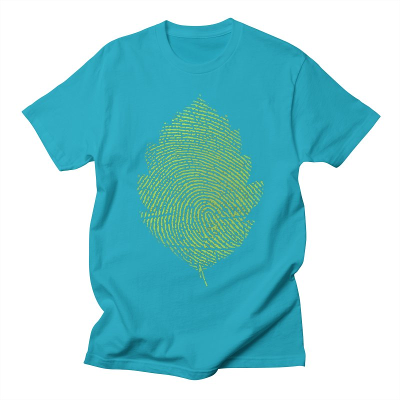Leafprint Women's Unisex T-Shirt by Opippi