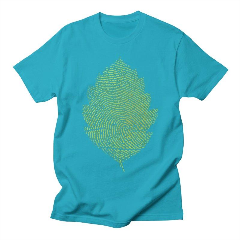 Leafprint Men's T-shirt by Opippi