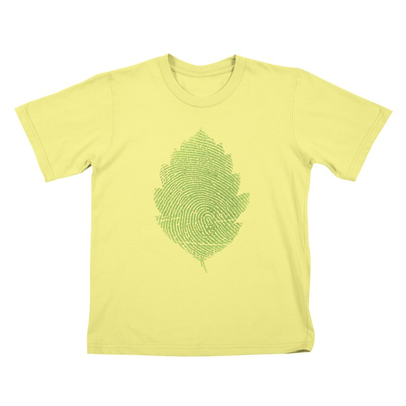 Leafprint Kids T-shirt by Opippi