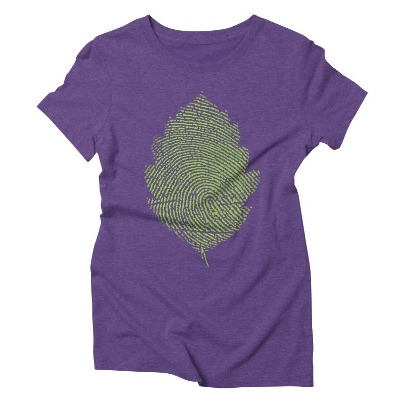 Leafprint Women's Triblend T-shirt by Opippi