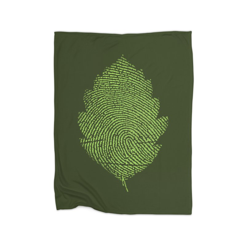 Leafprint Home Blanket by Opippi