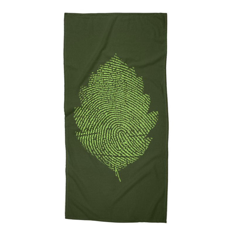 Leafprint Accessories Beach Towel by Opippi