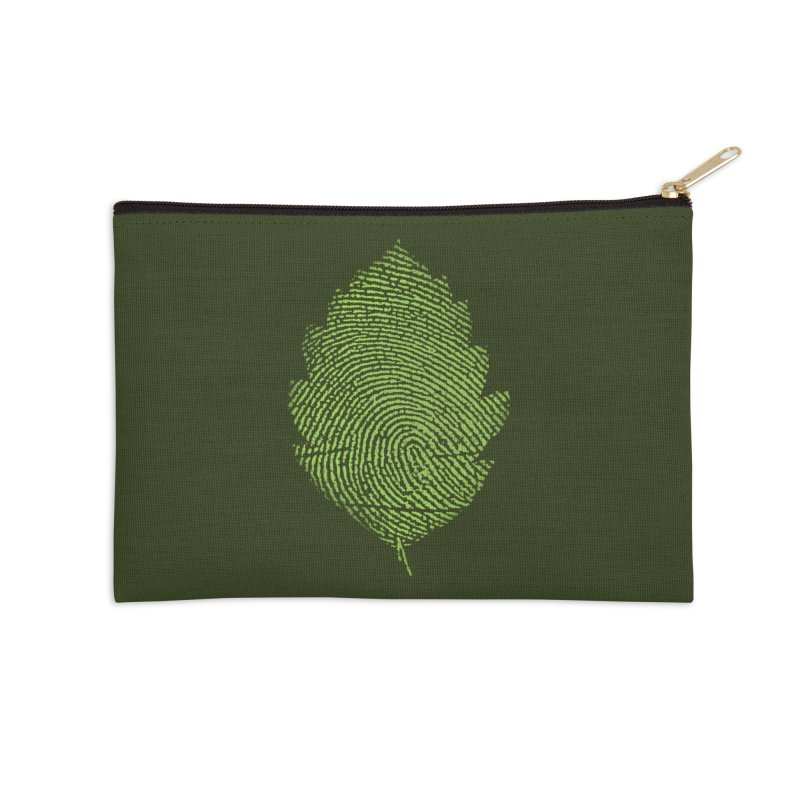 Leafprint Accessories Zip Pouch by Opippi