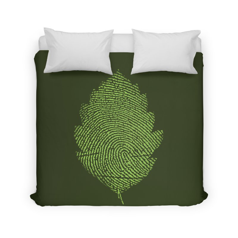 Leafprint Home Duvet by Opippi