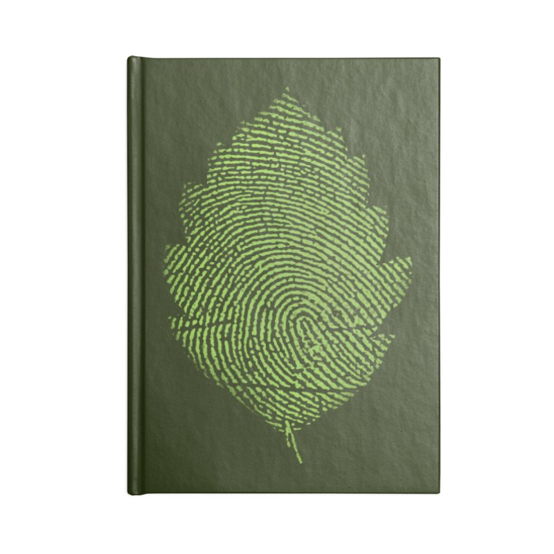 Leafprint Accessories Notebook by Opippi