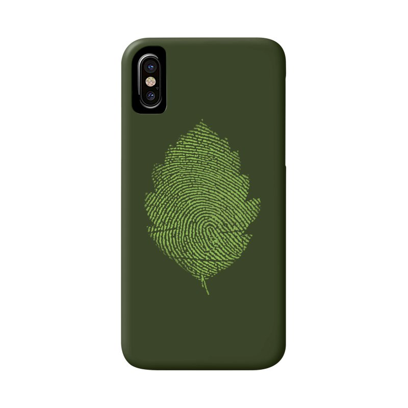 Leafprint Accessories Phone Case by Opippi