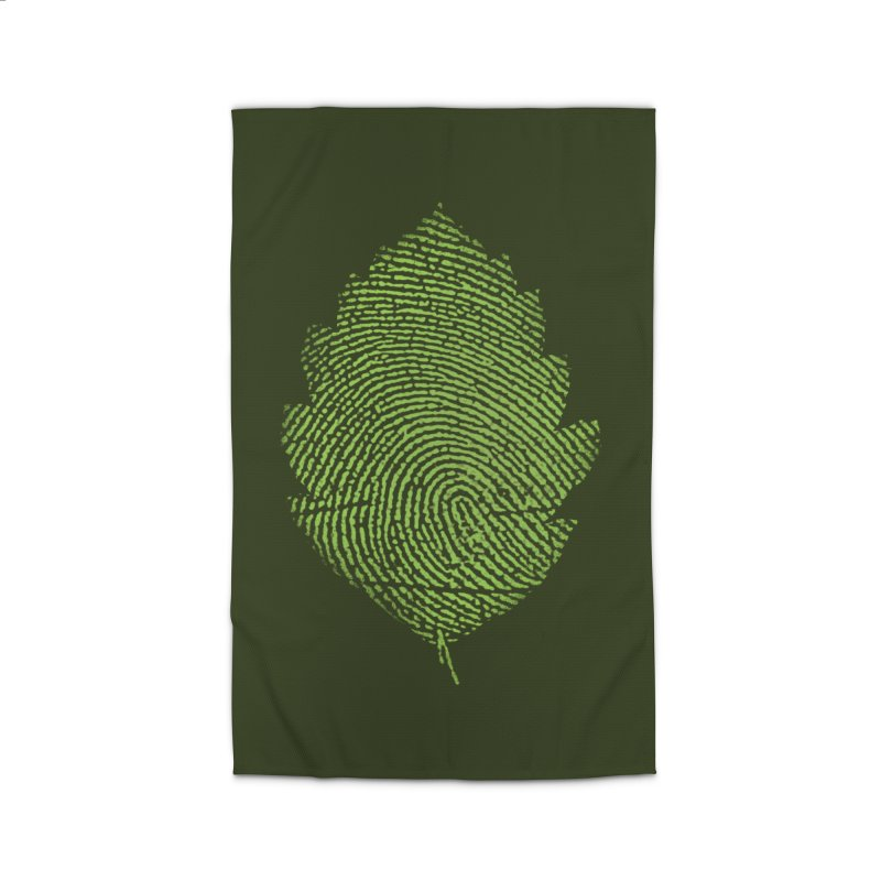 Leafprint Home Rug by Opippi