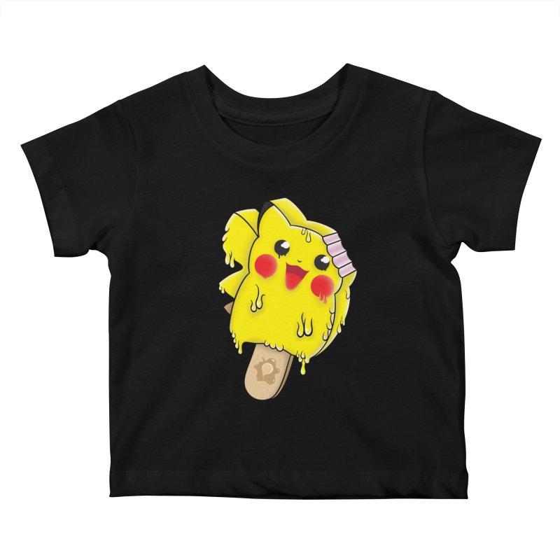 Pikochu Kids Baby T-Shirt by Opippi