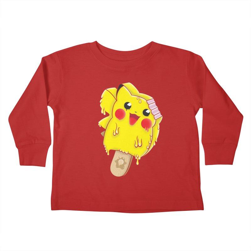Pikochu Kids Toddler Longsleeve T-Shirt by Opippi