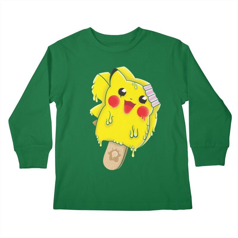 Pikochu Kids Longsleeve T-Shirt by Opippi