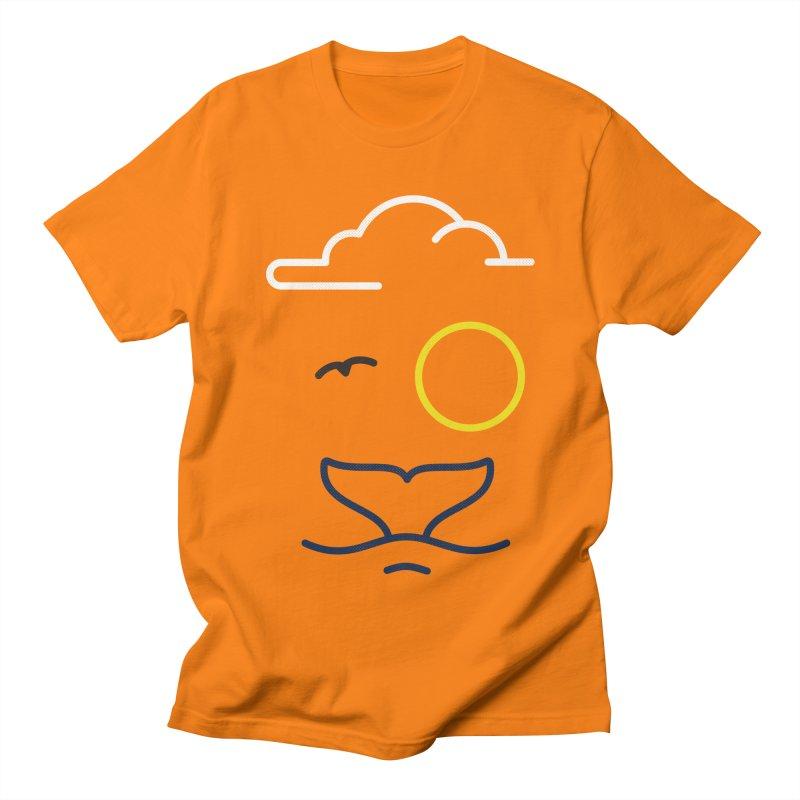 Philipp Von Whale Men's T-shirt by Opippi