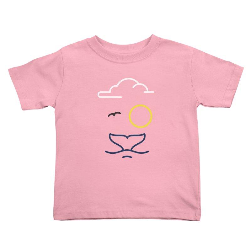 Philipp Von Whale Kids Toddler T-Shirt by Opippi