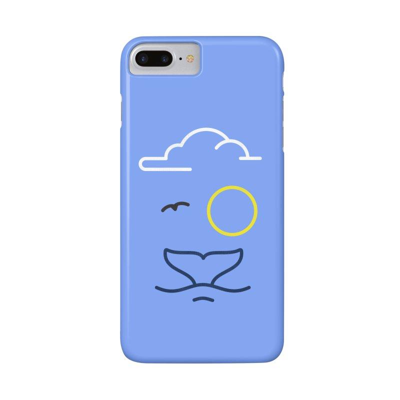 Philipp Von Whale Accessories Phone Case by Opippi