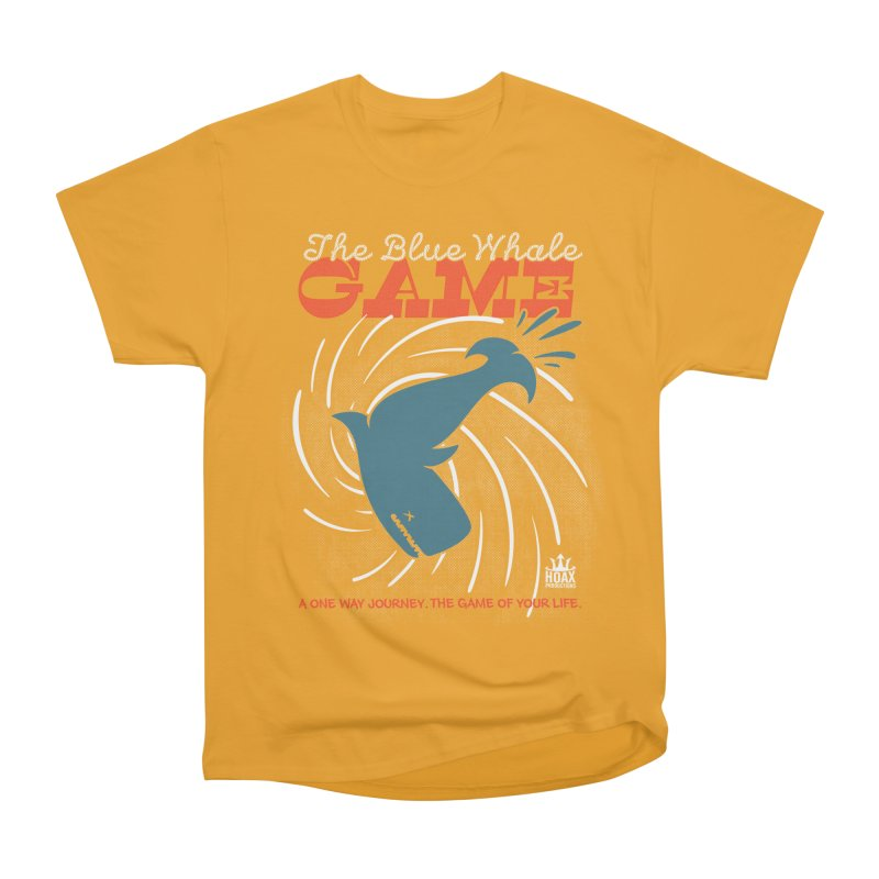 The Blue Whale Game Men's Classic T-Shirt by Opippi