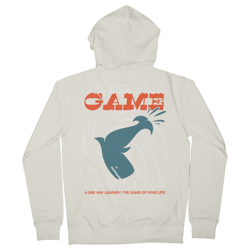 The Blue Whale Game Women's Zip-Up Hoody by Opippi