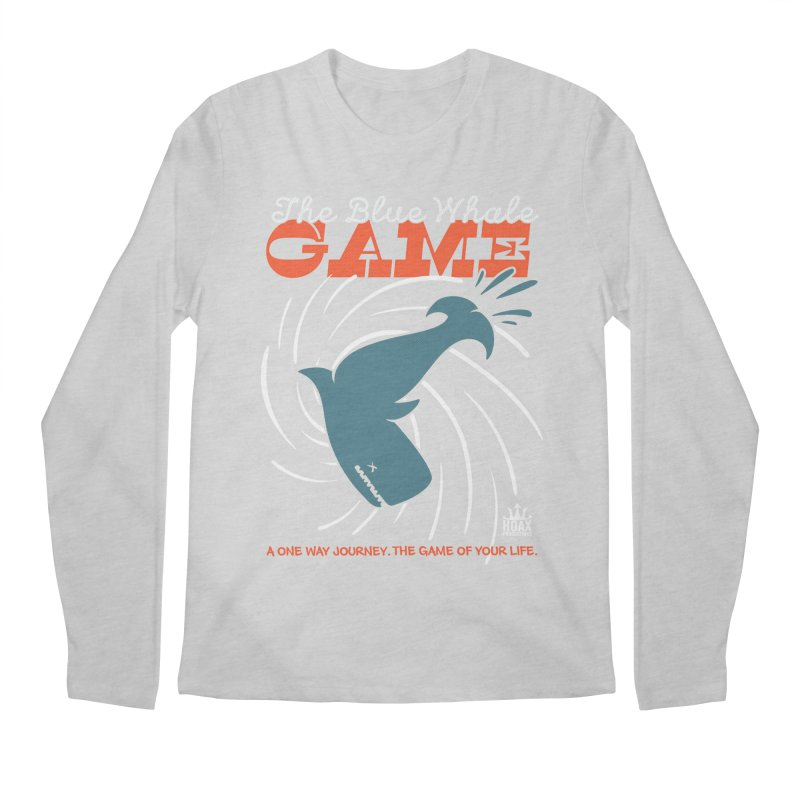 The Blue Whale Game Men's Longsleeve T-Shirt by Opippi