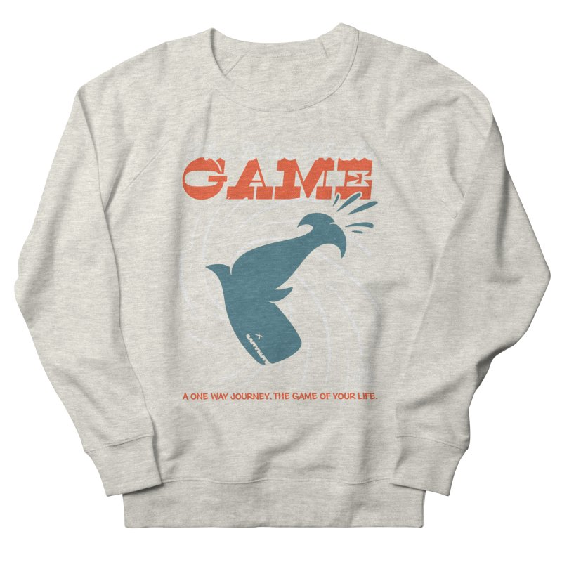 The Blue Whale Game Men's Sweatshirt by Opippi